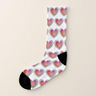 Herzen auf meinen Socken
