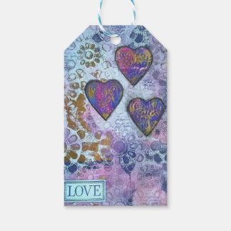 Herzen der Liebe-3 Geschenkanhänger