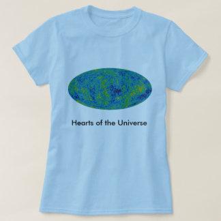 Herzen des Universum-Shirts T-Shirt