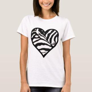 Herzen ein viel T-Shirt