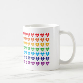 Herzen eines Orlandos eins Impuls-Regenbogen-49 Kaffeetasse