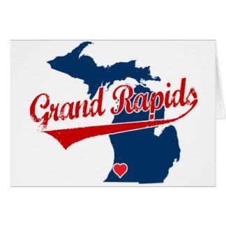 Herzen Grand Rapids Michigan Karte