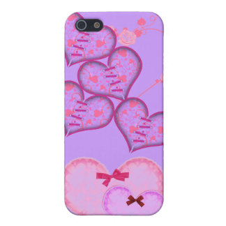 Herzen iPhone 5 Etui