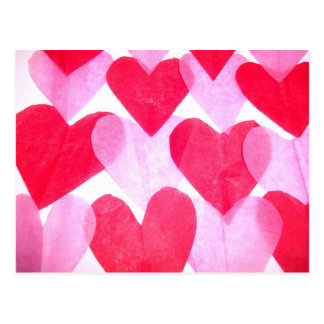 Herzen Postkarten