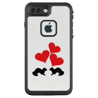 Herzen u. Frettchen LifeProof FRÄ' iPhone 8 Plus/7 Plus Hülle