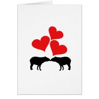 Herzen u. Tapirs Karte