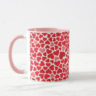 Herzenvalentines-Liebe-Tasse Tasse