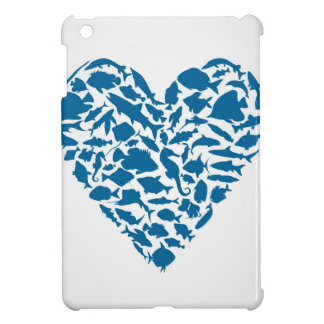 Herzfische iPad Mini Hülle