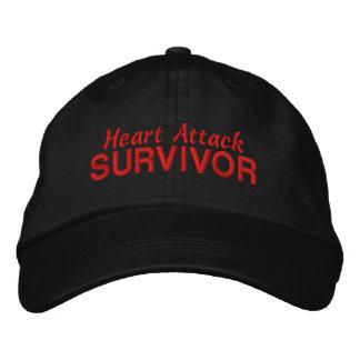 Herzinfarkt-Überlebender Besticktes Baseballcap