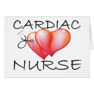 Herzkrankenschwester-Geschenke Karte