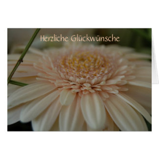 """""""Herzliche Glückwünsche"""" by mysteryella Grußkarte"""