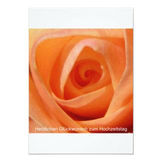 Herzlichen Glückwunsch zum Hochzeitstag 12,7 X 17,8 Cm Einladungskarte