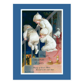 """""""Herzliches Weihnachten wünscht"""" Vintages Postkarte"""