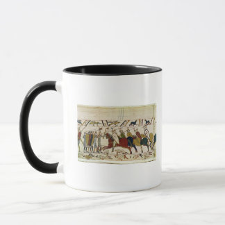 Herzog William Exhorts seine Truppen Tasse