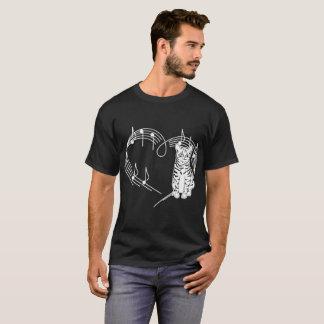Herzschlag-amerikanischer Bobtail T-Shirt