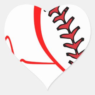 Herzschlag Herz-Aufkleber
