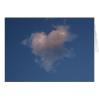Herzwolken-Liebekarte Karten