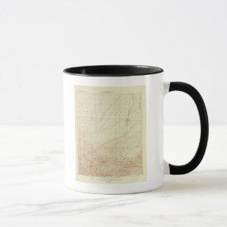 Hesperia Viereck, das San- Andreasriß zeigt Tasse