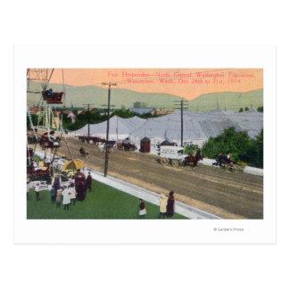 Hesperides FairNorth zentrale WA Ausstellung Postkarte
