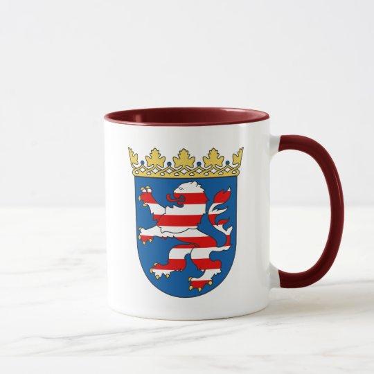 Hessen - Coat of Arms/Wappen Coffee Mug Tasse
