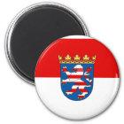 Hessen, Deutschland Runder Magnet 5,1 Cm