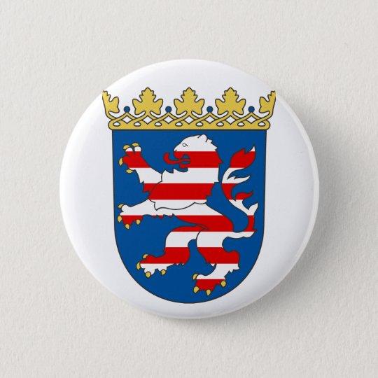 Hessen  Fan Runder Button 5,1 Cm