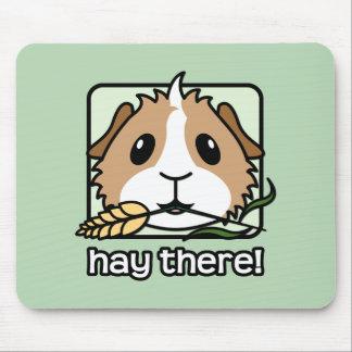 Heu dort! (Meerschweinchen) Mousepad