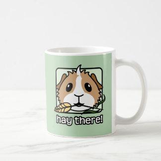 Heu dort! (Meerschweinchen) Tasse
