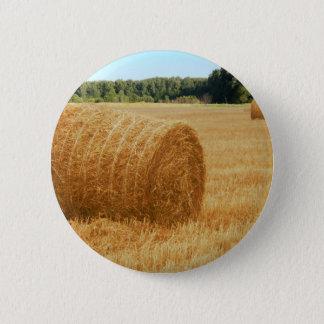 Heuballen Runder Button 5,7 Cm