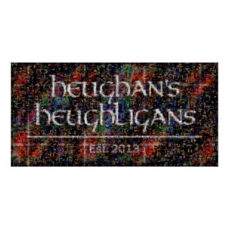 Heughligans Foto-Collage - 2013 Poster
