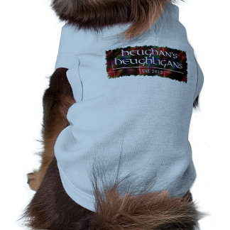 Heughligans Logo Ärmelfreies Hunde-Shirt
