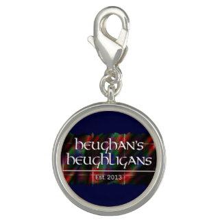 Heughligans Logo (DK-Blau) Foto Charm