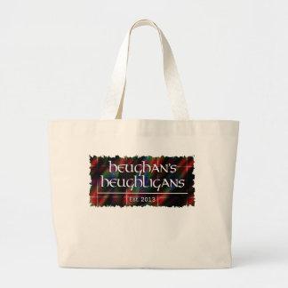 Heughligans Logo Jumbo Stoffbeutel