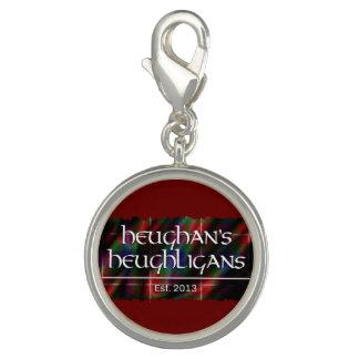 Heughligans Logo (rot) Charm