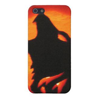 Heulender Halloween-Wolf Schutzhülle Fürs iPhone 5