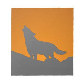 Heulenwolf-Notizblock Notizblock