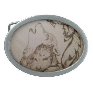 Heulenwolf Ovale Gürtelschnallen