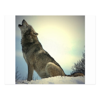 Heulenwolf Postkarte