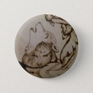 Heulenwolf Runder Button 5,1 Cm