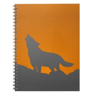Heulenwolfnotizbuch Notizblock