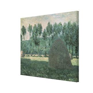 Heuschober Claude Monets | nähern sich Giverny, Leinwanddruck