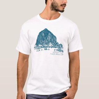 Heuschober-Felsen-Illustration T-Shirt