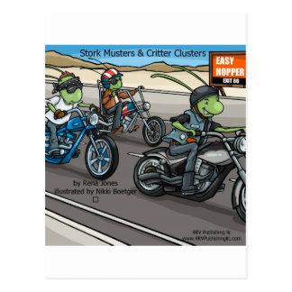 Heuschrecke Postkarte