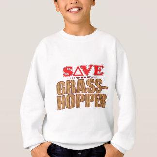 Heuschrecke retten sweatshirt
