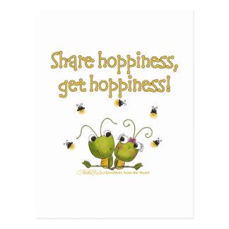 Heuschrecken-Anteil Hoppiness Postkarte