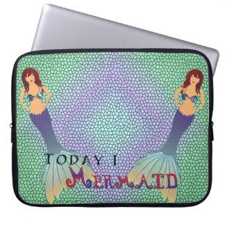 Heute ich Meerjungfrau Laptopschutzhülle