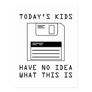 Heutige Kinder haben keine Ahnung, was dieses ist Postkarten