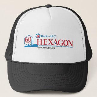 Hexagon bei Hut 60 Truckerkappe