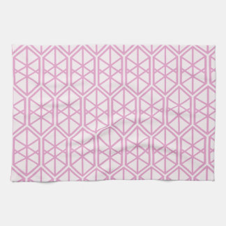 Hexagon-geometrisches Muster-sechseckiges Geschirrtuch