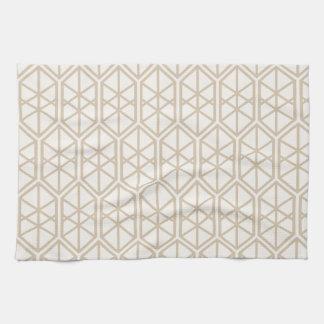 Hexagon-geometrisches Muster-sechseckiges Küchentuch